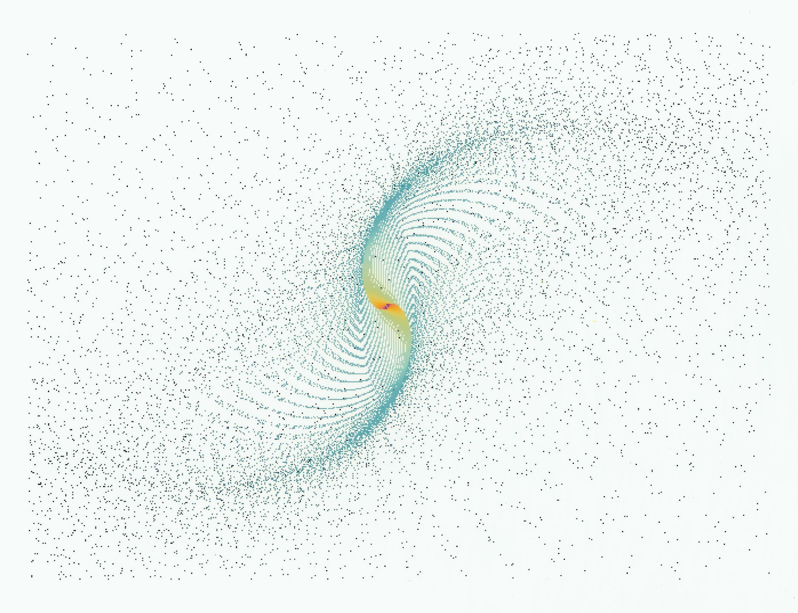 Spyrografx Harmonograph Simulator - Bild: Chaos Ordnung