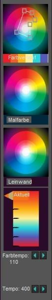 Farbschaltflächen